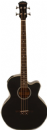Freshman FA1BK Jumbo Electro Acoustic Bass Guitar in Black